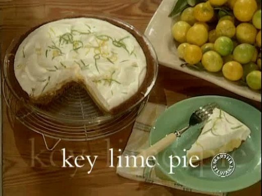 Martha Stewart Key Lime Pie  Key Lime Pie Video
