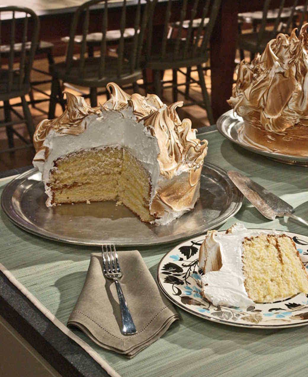 Martha Stewart Lemon Cake  Lemon Meringue Cake