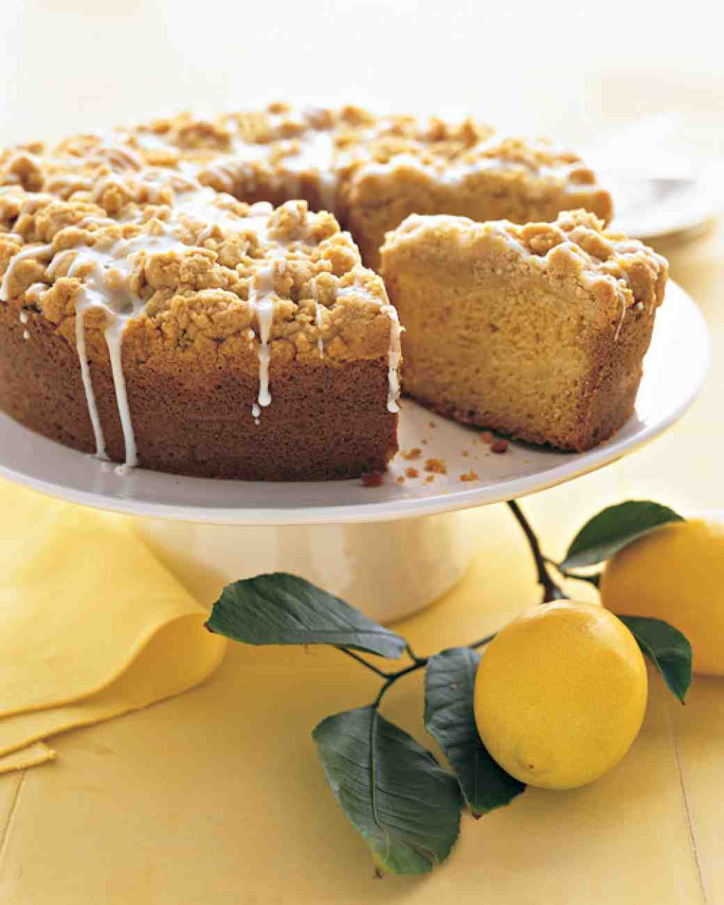 Martha Stewart Lemon Cake  Meyer Lemon Coffee Cake Recipe