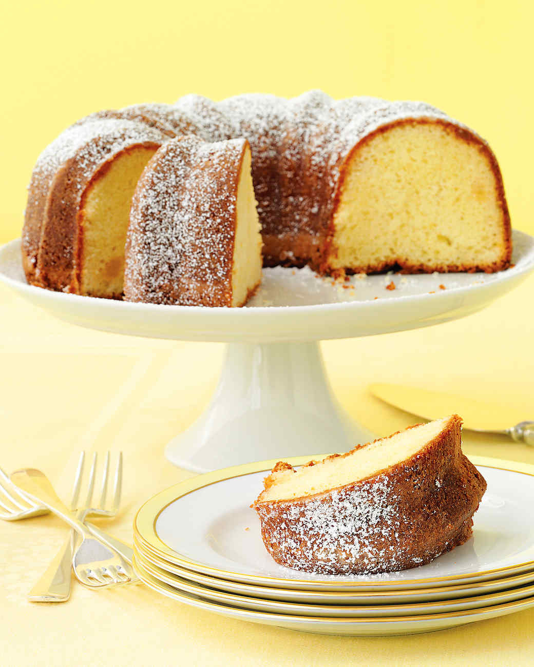 Martha Stewart Lemon Cake  Lemon Ginger Bundt Cake Recipe