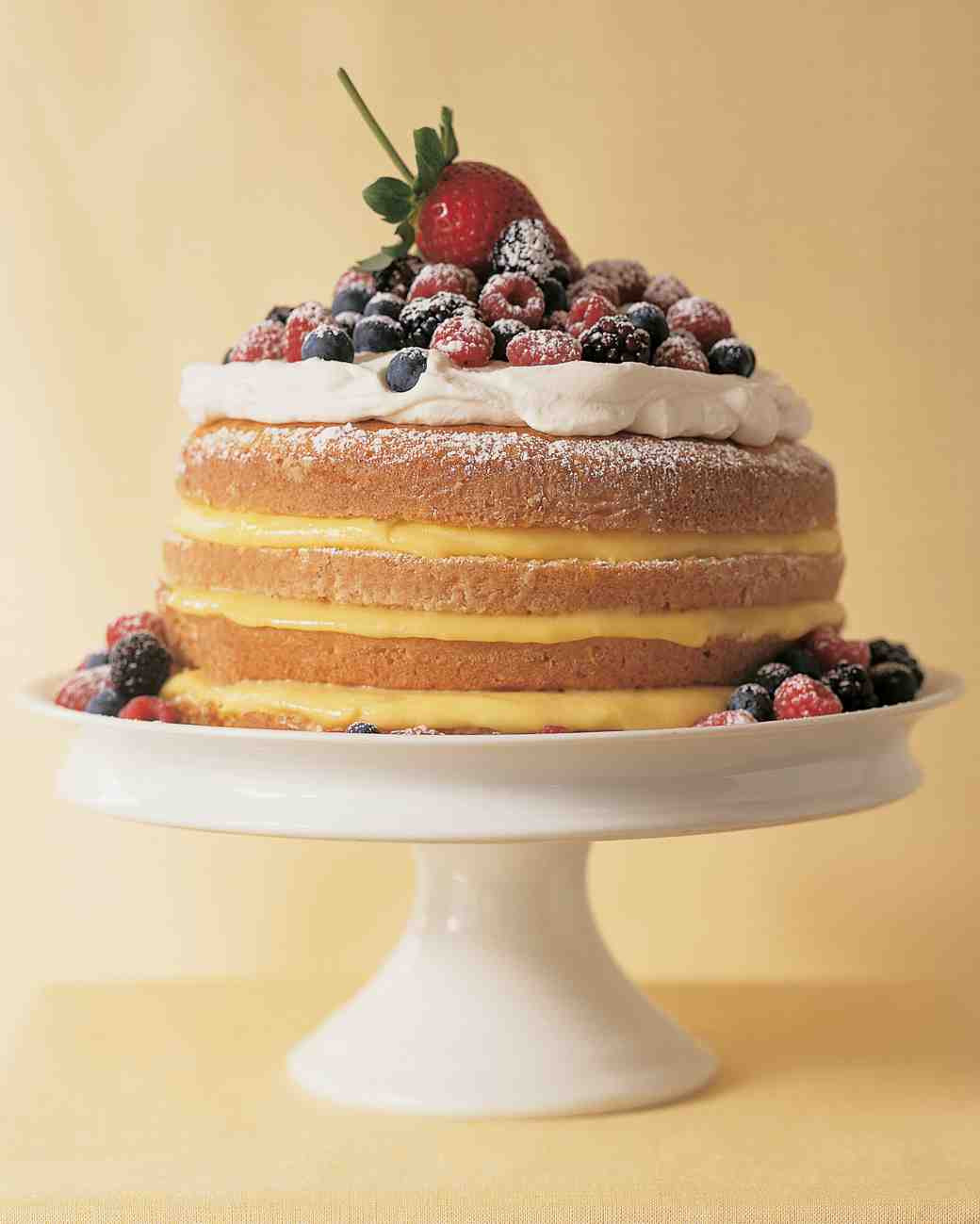 Martha Stewart Lemon Cake  1–2 3–4 Lemon Cake Recipe