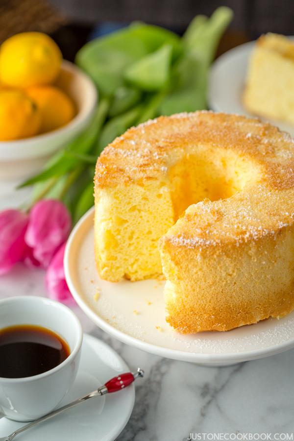 Martha Stewart Lemon Cake  lemon chiffon cake martha stewart