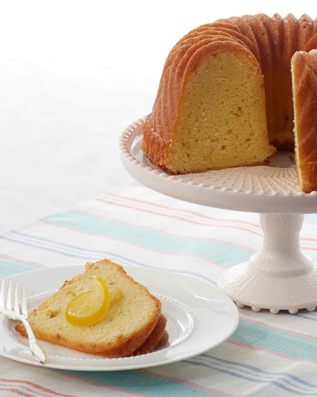 Martha Stewart Lemon Cake  applesauce bundt cake martha stewart