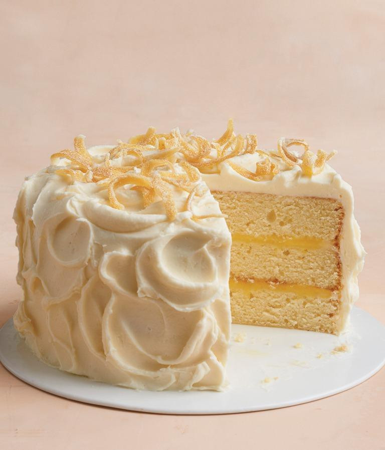 Martha Stewart Lemon Cake  Recipe Martha Stewart s Tender Lemon Cake