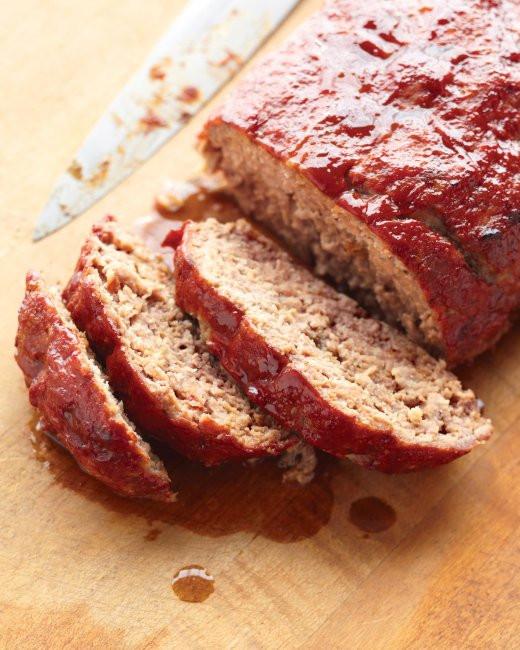 Martha Stewart Meatloaf  Glazed Meatloaf Recipe