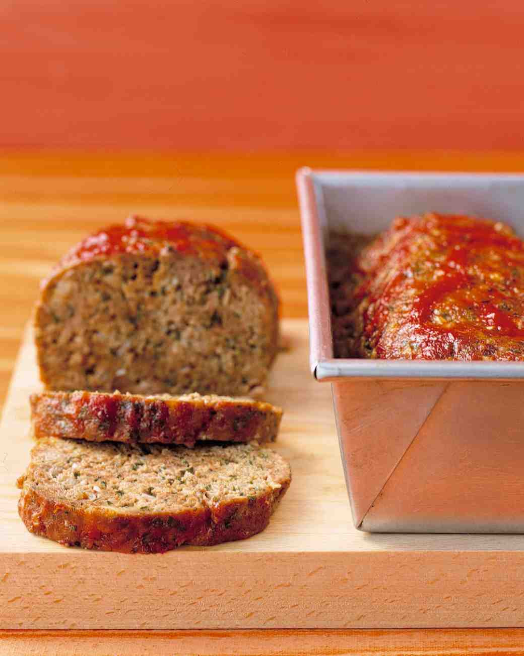 Martha Stewart Meatloaf  Meatloaf With Chili Sauce Recipe & Video
