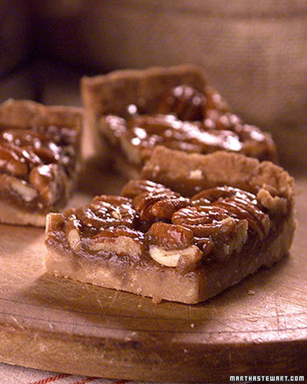 Martha Stewart Pecan Pie  Pecan Squares Recipe