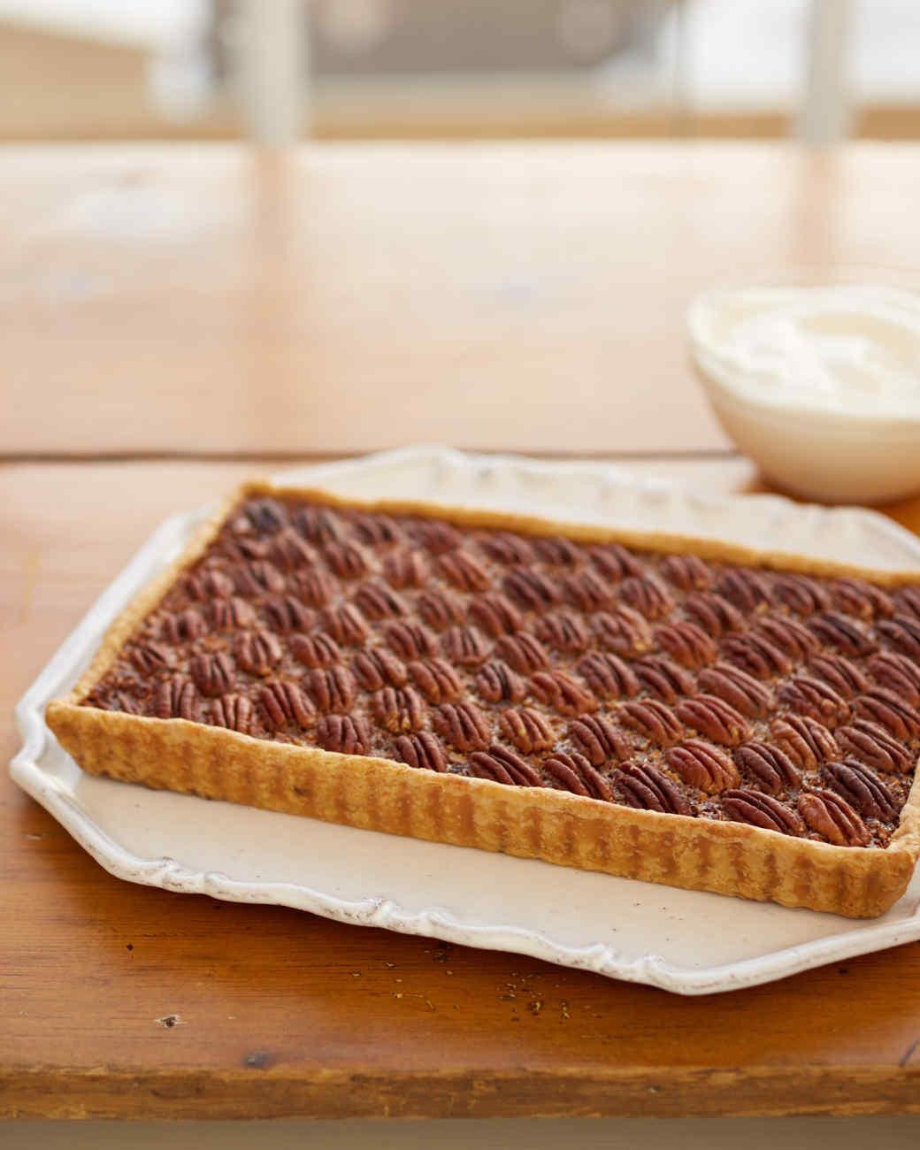 Martha Stewart Pecan Pie  Martha s Pecan Tart