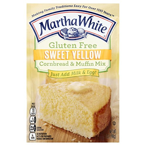 Martha White Cornbread Mix  Martha White Gluten Free Sweet Yellow Cornbread and Muffin