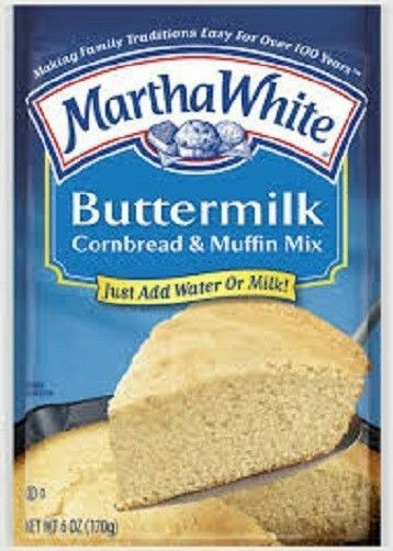 Martha White Cornbread Mix  Martha White Buttermilk Cornbread & Muffin Mix