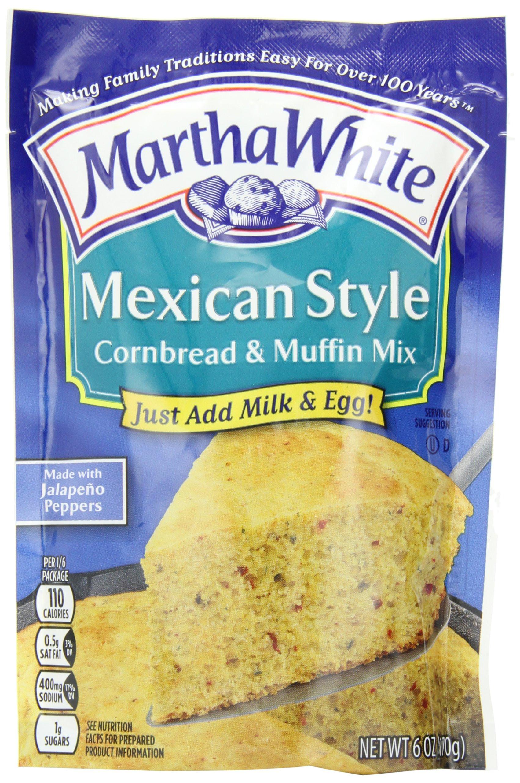 Martha White Cornbread Mix  Amazon Martha White Sweet Yellow Cornbread and