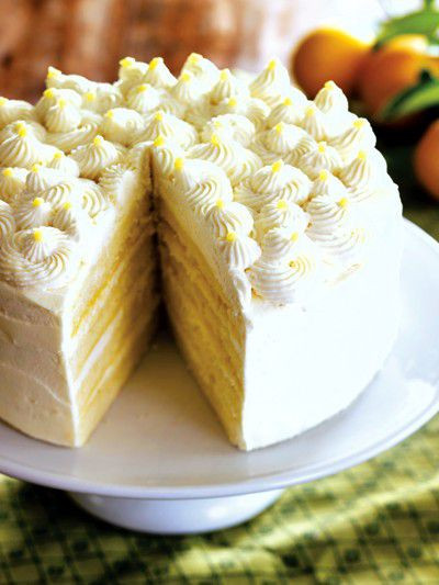 Mascarpone Cheese Dessert Recipe  Lemon Mascarpone Layer Cake Recipe