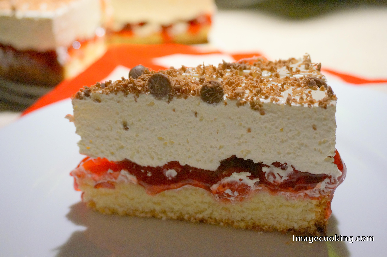 Mascarpone Cheese Desserts Recipes  Layered Beautifully Mascarpone Cheese and Cherry Cake