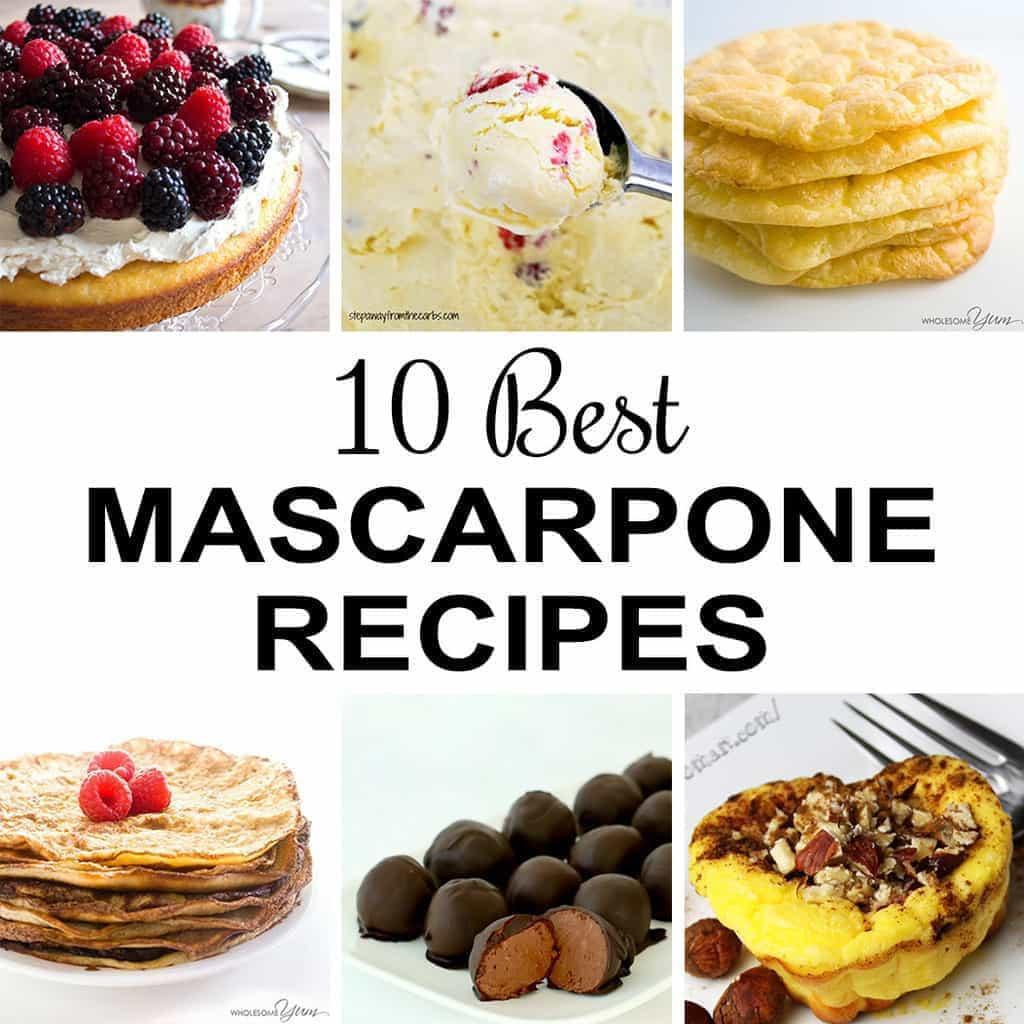 Mascarpone Cheese Desserts Recipes  10 Best Mascarpone Recipes Mascarpone Cheese Recipes