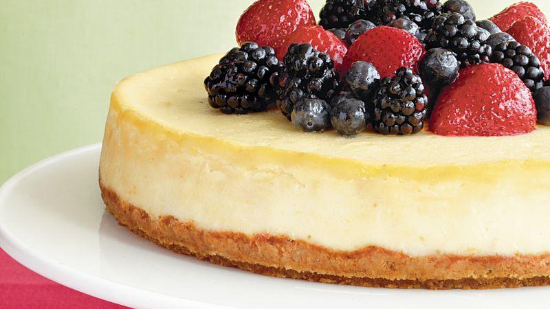 Mascarpone Cheese Desserts Recipes  Mascarpone Berry Cheesecake Recipe Pillsbury