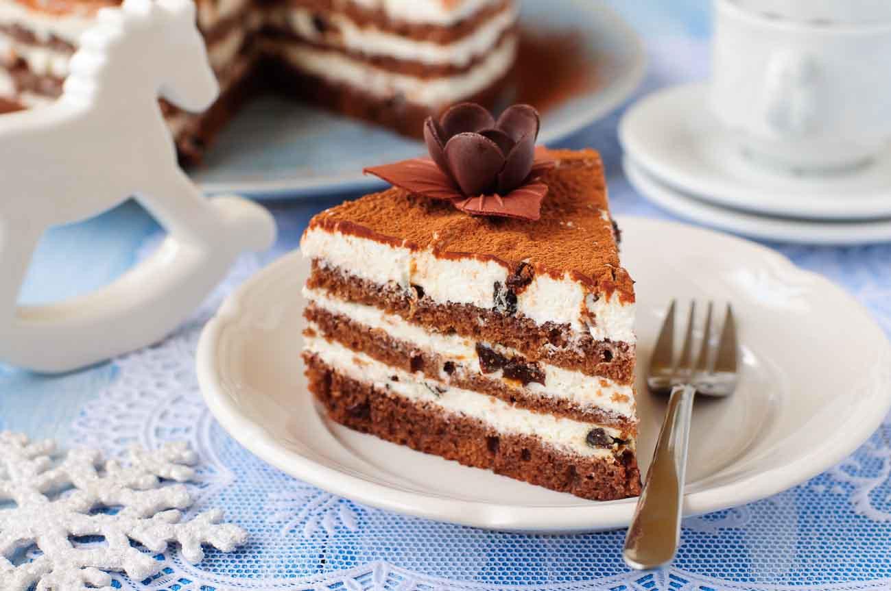 Mascarpone Cheese Desserts Recipes  Eggless Layered Chocolate Cake Mascarpone Cheese by