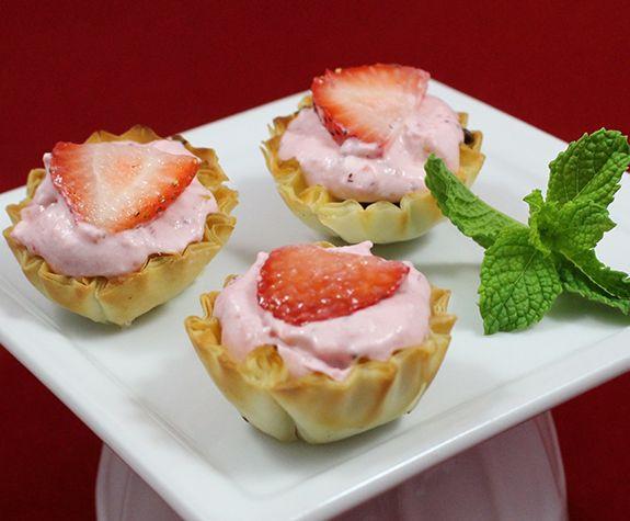 Mascarpone Cheese Desserts Recipes  Strawberry Mascarpone Tartlets Easy Desserts