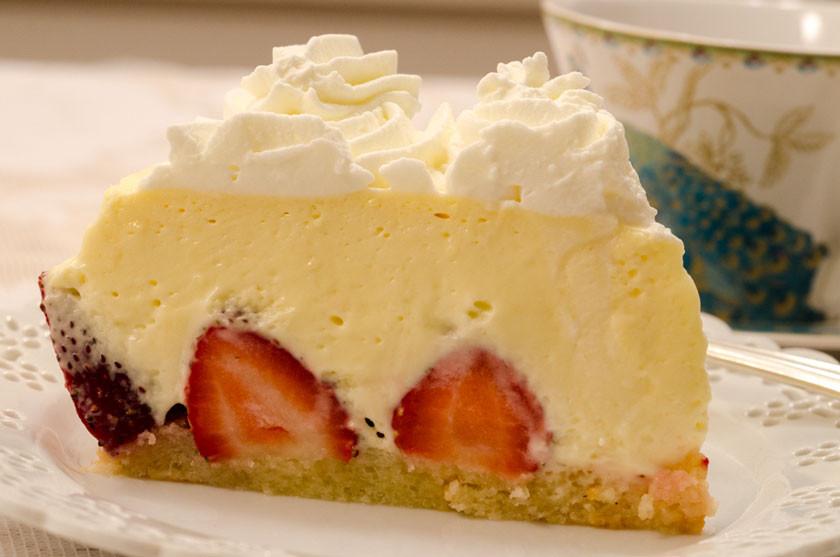 Mascarpone Cheese Desserts Recipes  Strawberry Mascarpone Torte Recipe by Helen S Fletcher