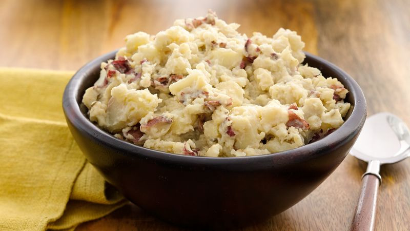 Mash Potato Recipe Easy  Easy Slow Cooker Garlic Mashed Potatoes Recipe Pillsbury