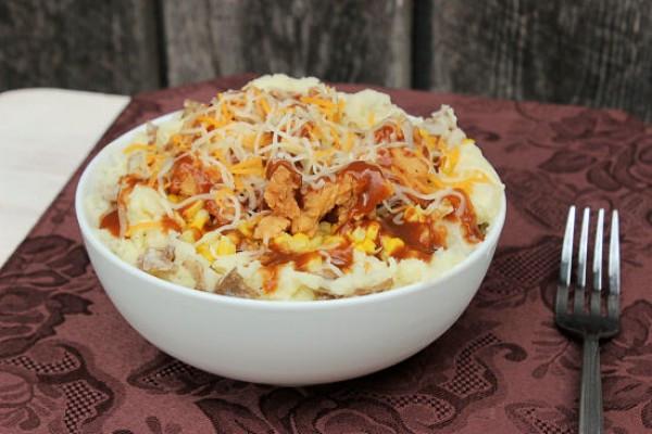 Mashed Potato Bowl  Chicken Mashed Potato Bowl Copycat Crafts