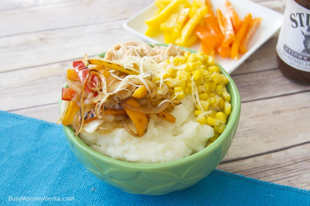 Mashed Potato Bowl  Grilled Chicken Mashed Potato Bowls with Creamy BBQ Sauce