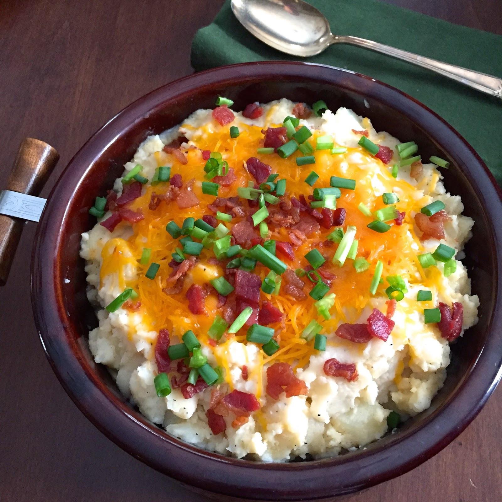 Mashed Potato Bowl  Food Impressions Loaded Mashed Potato Casserole A Family