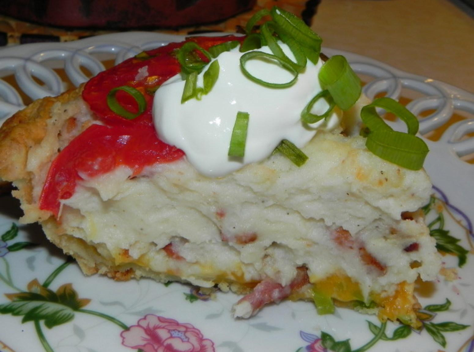 Mashed Potato Pies  Savory Mashed Potato Pie Recipe