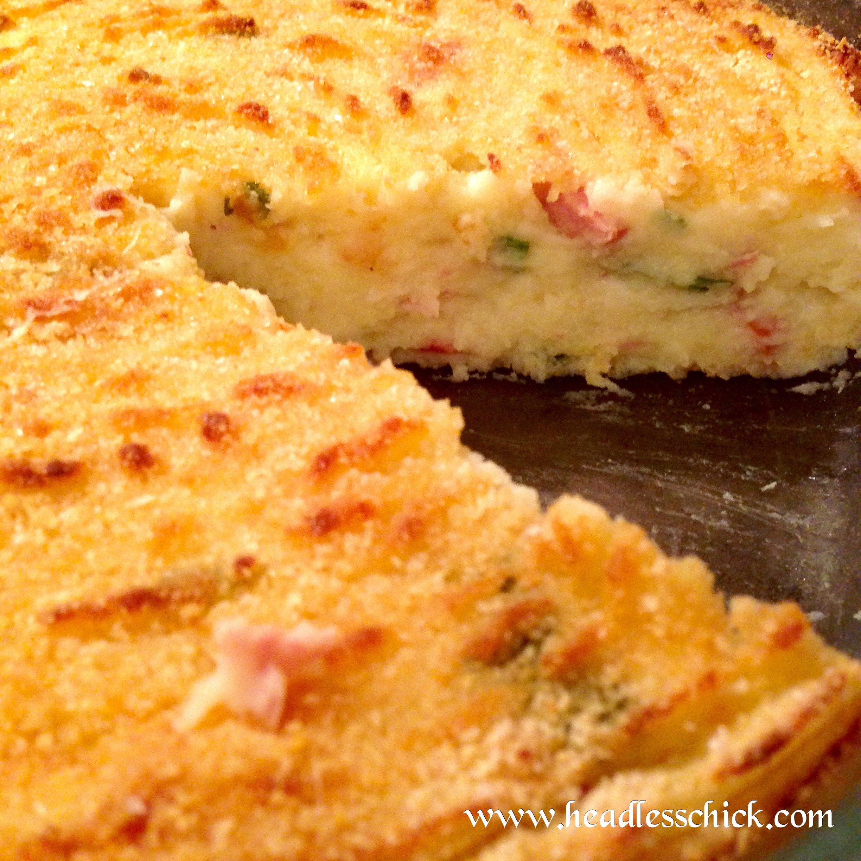 Mashed Potato Pies  mashed potato quiche