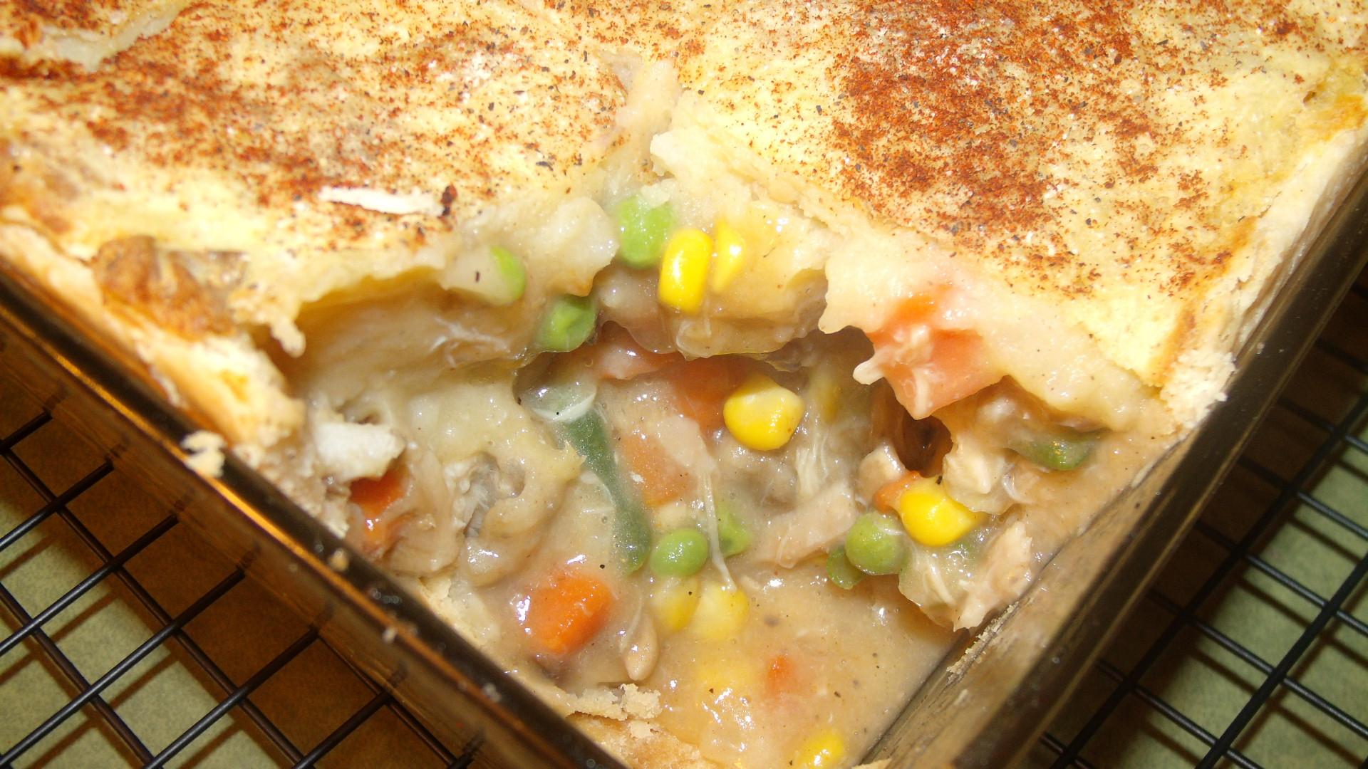 Mashed Potato Pies  Mashed Potato Topped Turkey Pot Pie – Honesty s Protégée