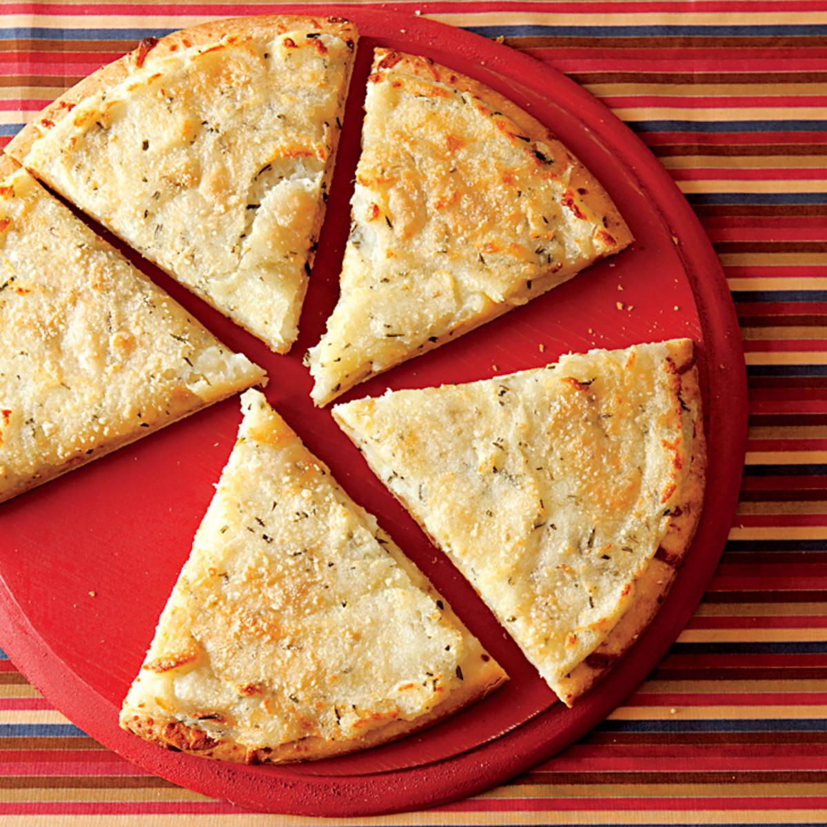 Mashed Potato Pizza  Mashed Potato Pizza Rachael Ray Every Day