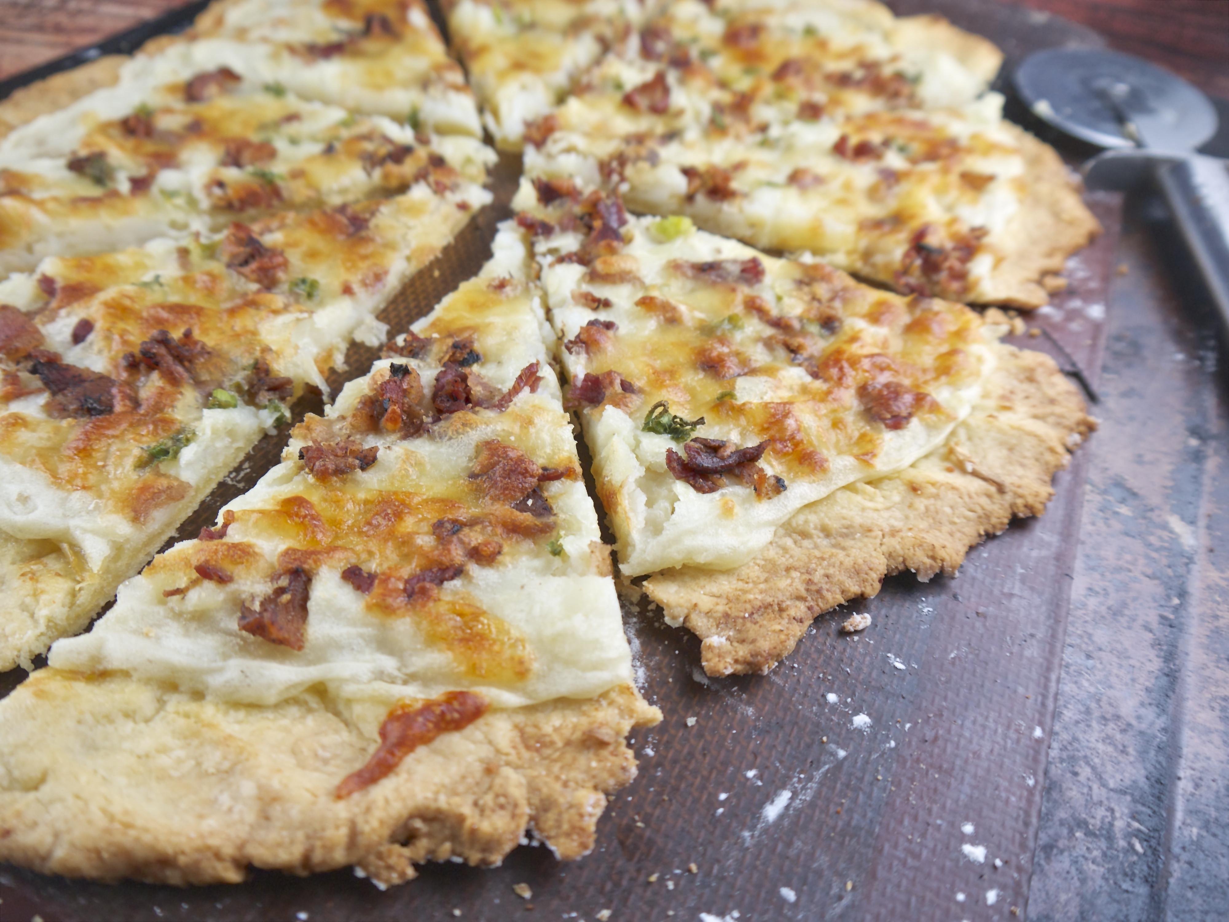 Mashed Potato Pizza  Allergy Friendly Mashed Potato Pizza