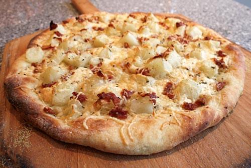 Mashed Potato Pizza  Potato Pizza – Italian Food Forever