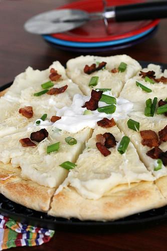 Mashed Potato Pizza  Mashed Potato Pizza