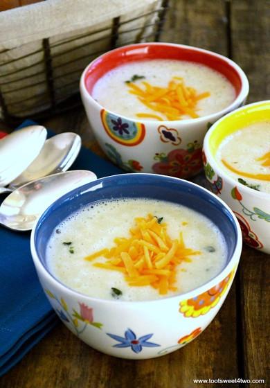 Mashed Potato Soup  Leftover Garlic Mashed Potato Soup