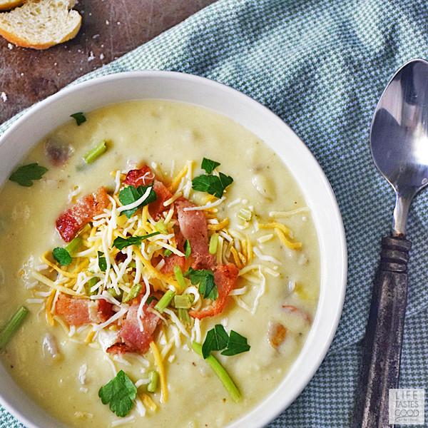 Mashed Potato Soup  Mashed Potato Soup Recipe