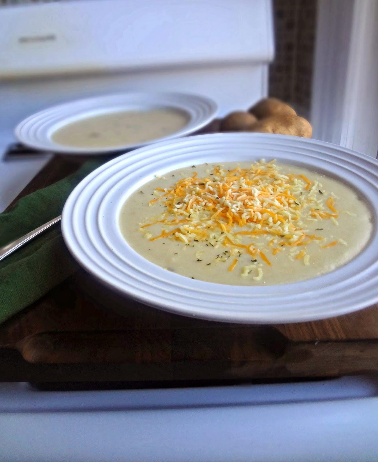 Mashed Potato Soup  The Cooking Actress Mashed Potato Soup