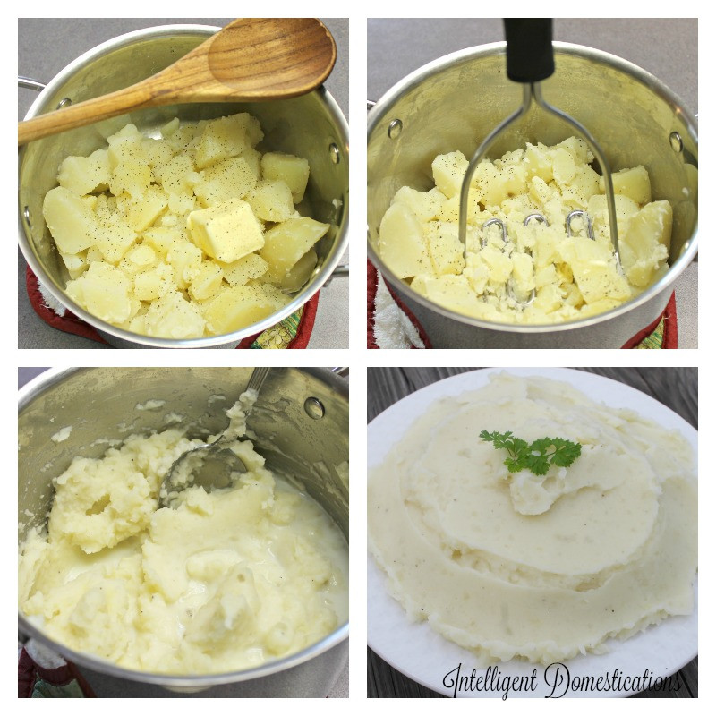 Mashed Potatoes From Scratch  Made From Scratch Mashed Potatoes & Menu Plan 19