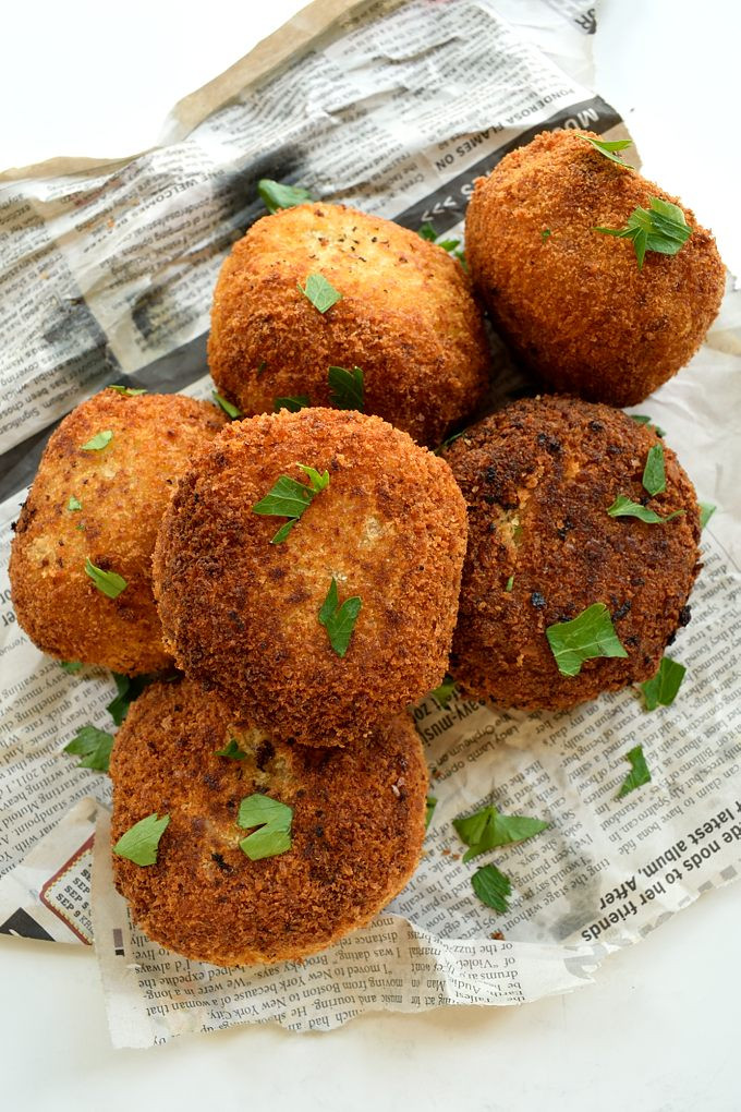 Mashed Potatoes In Spanish  Spanish Potato Bombas