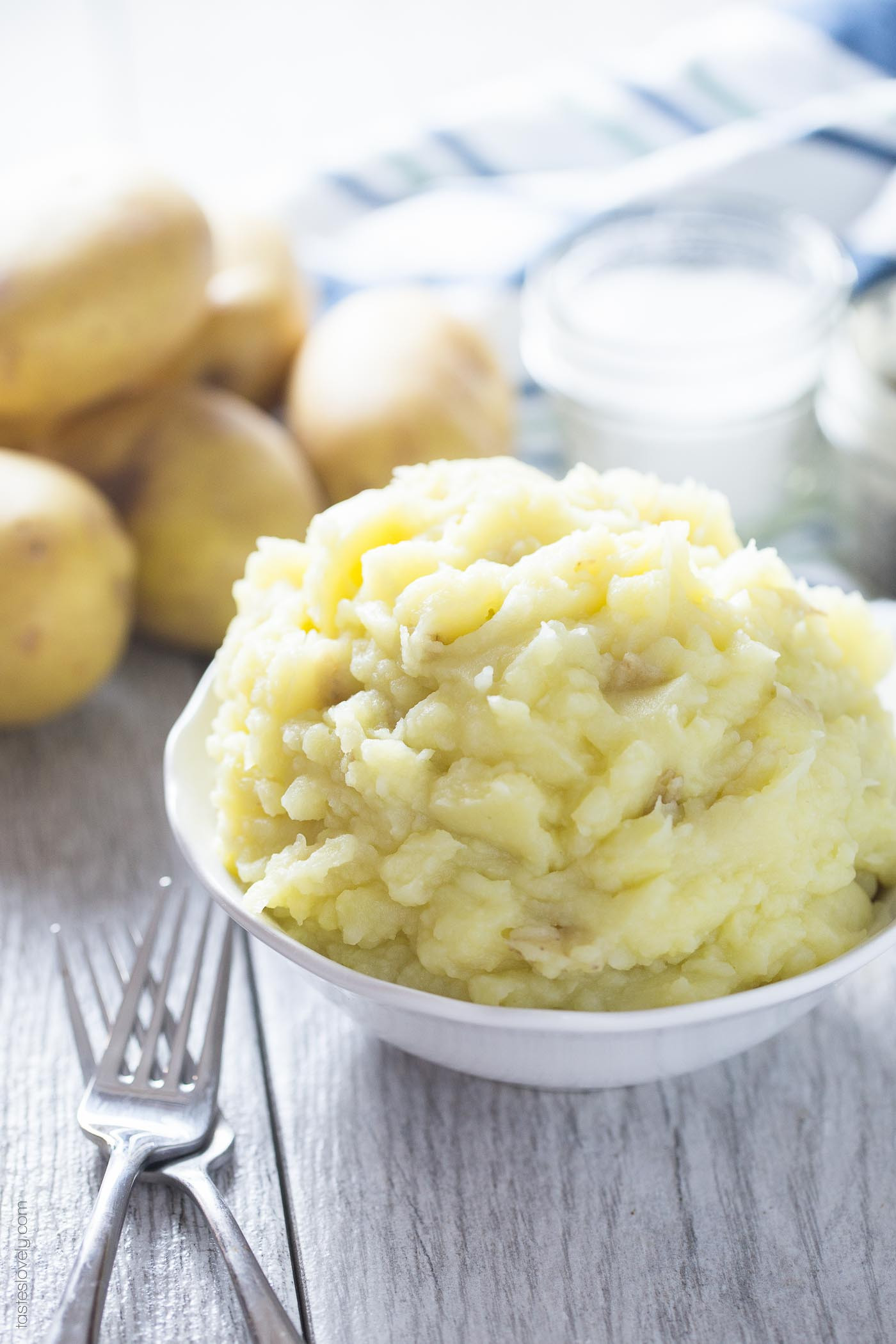 Mashed Potatoes No Milk  Dairy Free Mashed Potatoes — Tastes Lovely