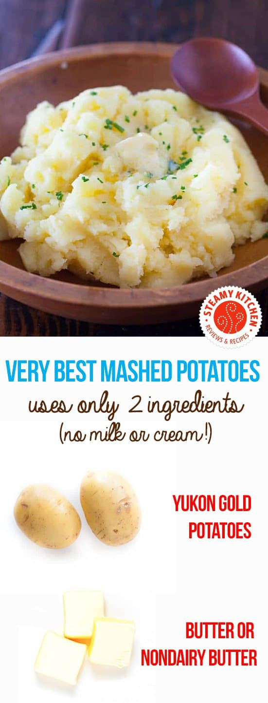 Mashed Potatoes No Milk  Very Best Mashed Potatoes No Milk Recipe Cravings Happen