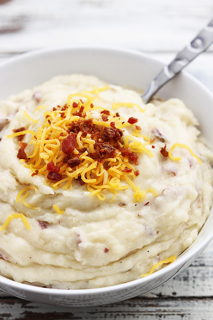Mashed Potatoes Slow Cooker  Thanksgiving Edition Mashed Potatoes 3 Ways – See Steph See