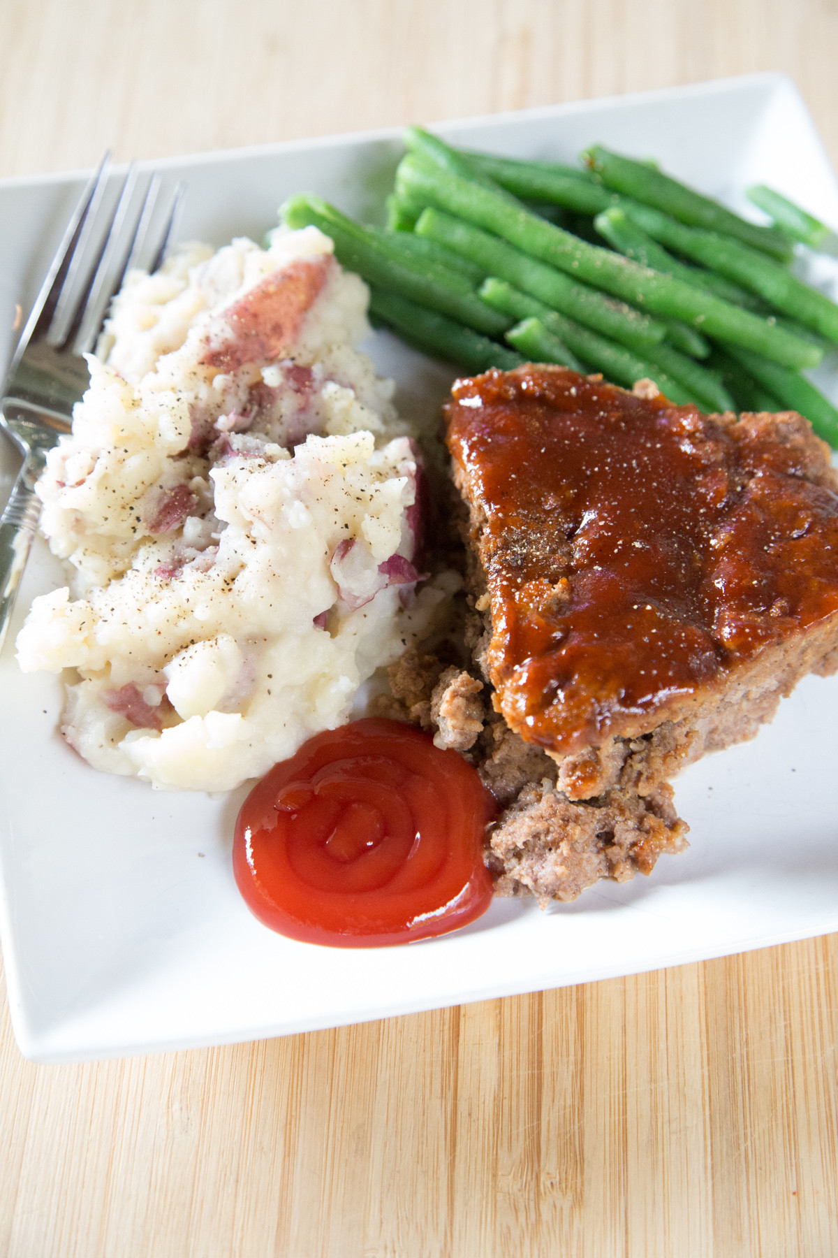 Mashed Red Potatoes  Instant Pot BBQ Meatloaf and Mashed Red Potatoes Recipe