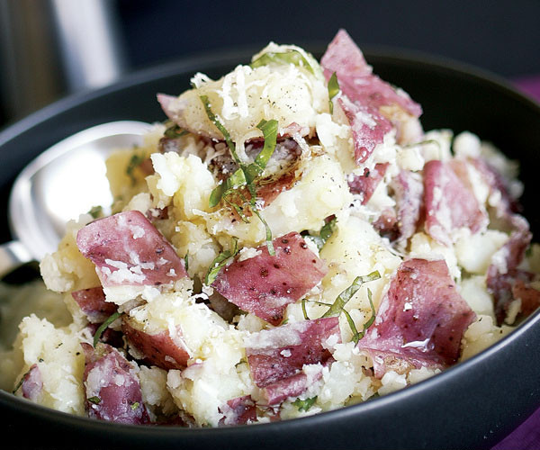 Mashed Red Potatoes  Smashed Red Potatoes with Basil Olive Oil – Capay Valley