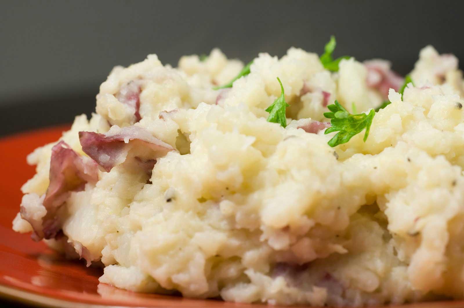Mashed Red Potatoes  Cooking Korner Ve arian Recipes