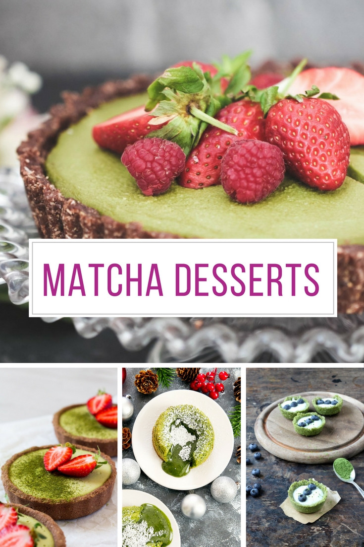 Matcha Dessert Recipes  12 Healthy Matcha Desserts to Amaze Your Friends