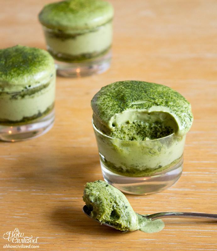 Matcha Dessert Recipes  Step by Step Recipe Matchamisu = Matcha Green Tea