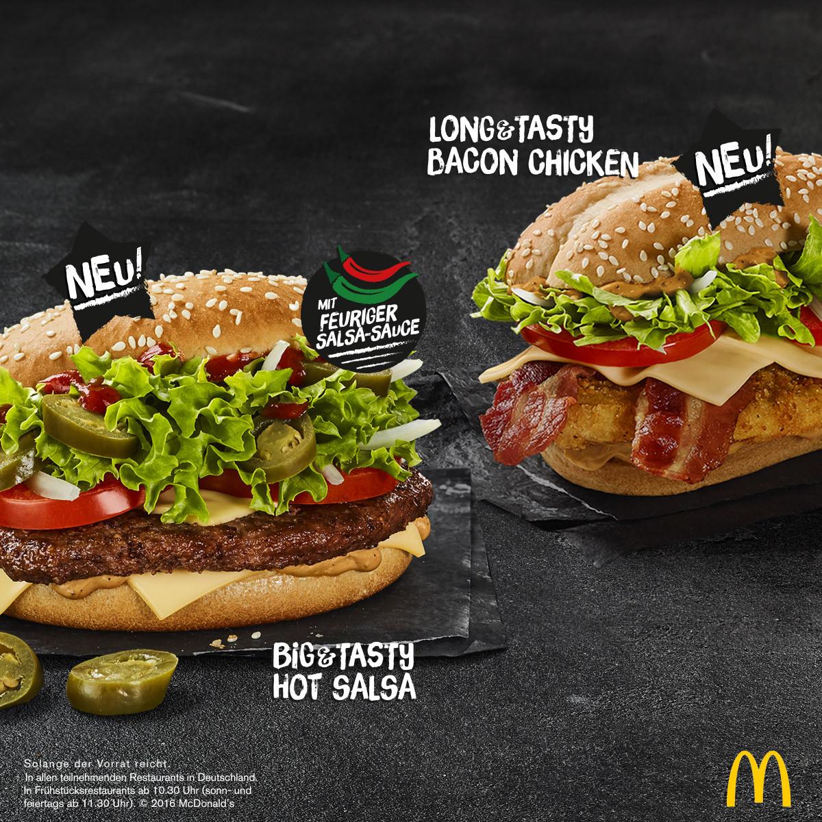 Mcdonald'S Chicken Tenders  McDonald s Deutschland erfüllt größten Burger Wunsch der