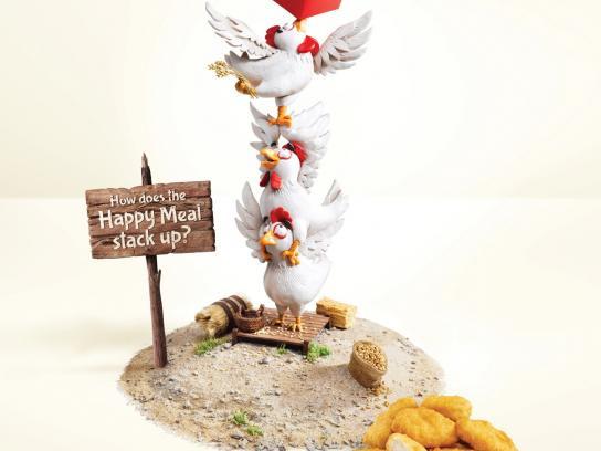 Mcdonald'S Chicken Tenders  McDonald s Print Advert By Leo Burnett Happy Meal Bundle