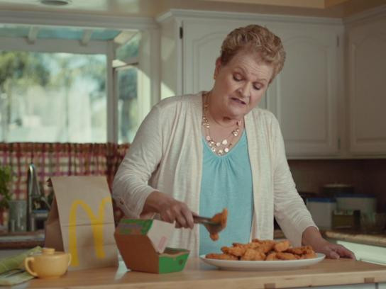 Mcdonald'S Dinner Box  McDonald s Outdoor Advert By TBWA Real