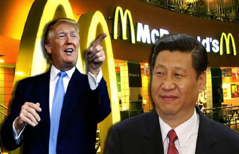 Mcdonald'S Dinner Box  Trump says Xi should a McDonald s hamburger instead